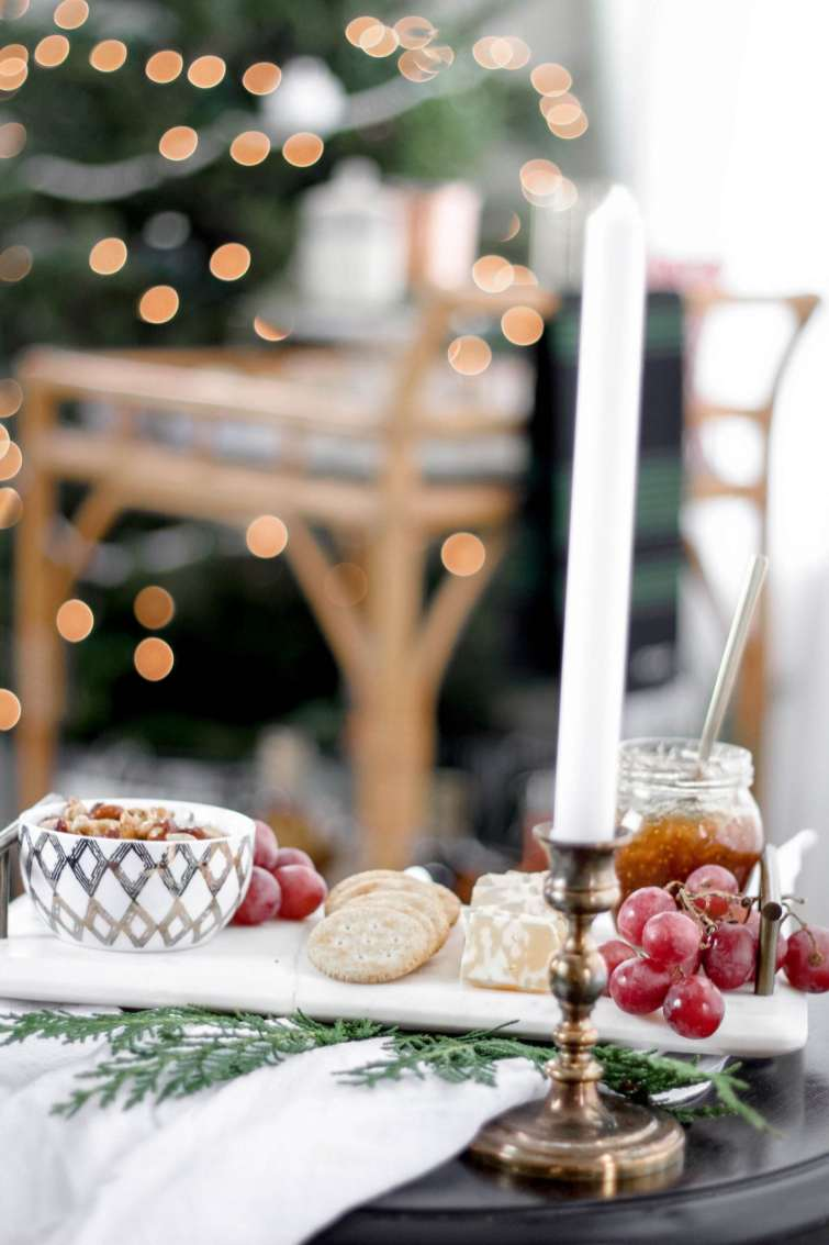 5 Essentials to Host your Own Holiday Soiree featured by top Nashville lifestyle blog, Modern Day Moguls: Charcuterie board