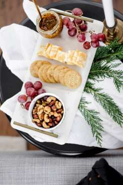 5 Essentials to Host your Own Holiday Soiree featured by top Nashville lifestyle blog, Modern Day Moguls: Cinnamon sweet and spicy Planters nuts
