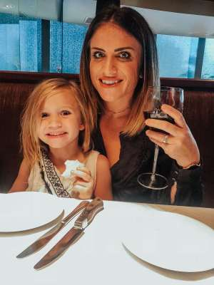 A New Upscale Flemings Kids Menu featured by popular Nashville life and style blogger, Modern Day Moguls