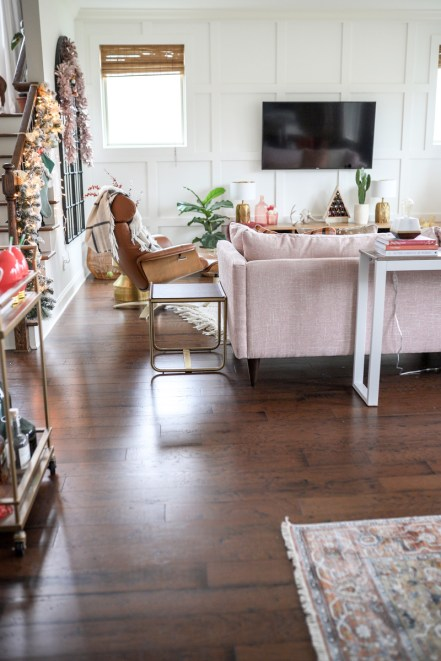 Joybird | Our New Pink Sectional, the Statement Piece of our Living Room Redo featured by top Nashville life and style blogger Modern Day Moguls