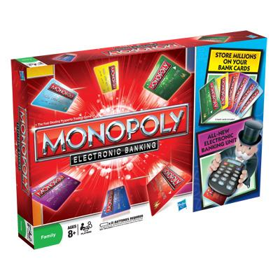 3. Monopoly: Electronic Banking - $24.99