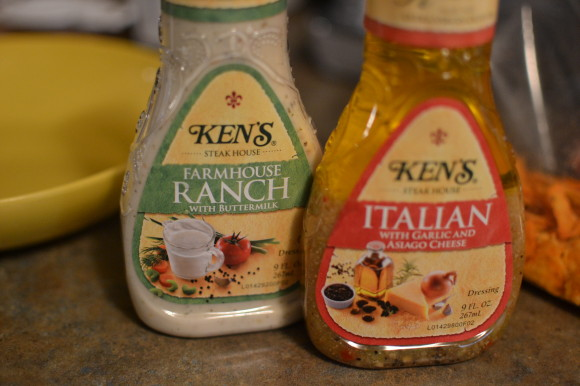 Ranch & Italian Dressing