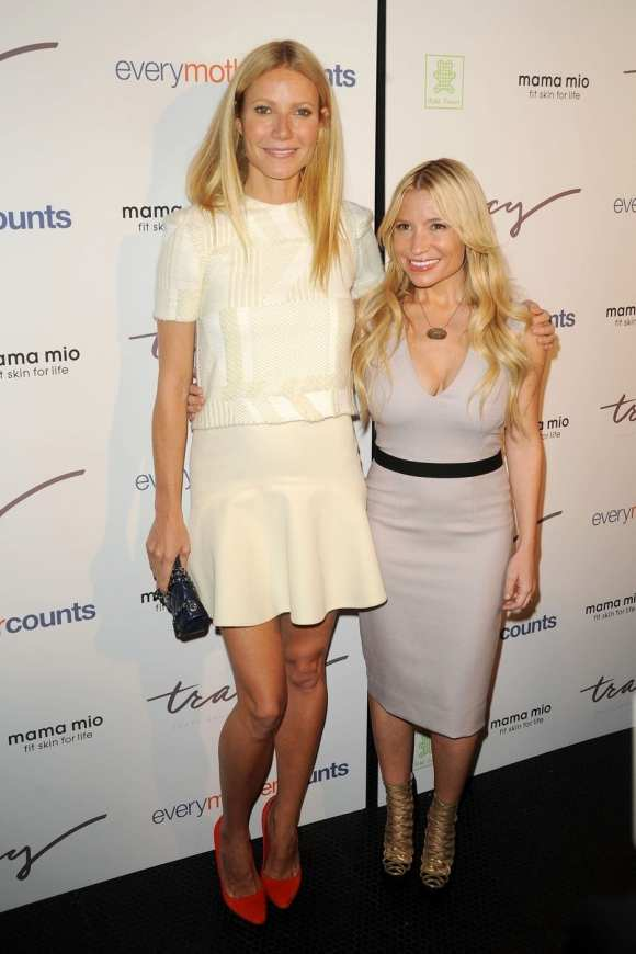 Gwyneth Paltrow walks the red carpet for the Tracy Anderson Method Pregnancy Project at The Standard Hotel in NYC