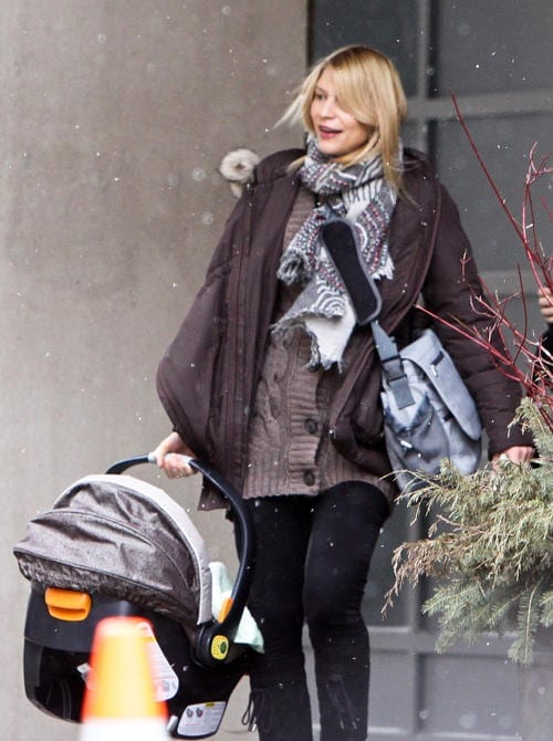 Exclusive - Claire Danes Seen With Her Son Cyrus In Toronto