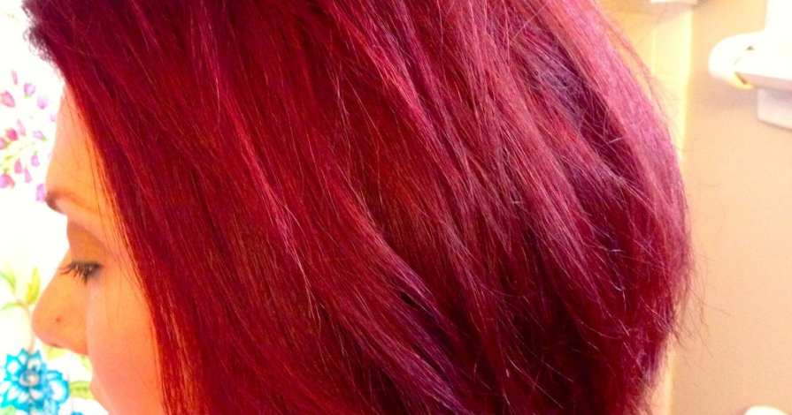 Diy Beauty From Brown Hair To Bright Red Hair Easy Steps No Pre