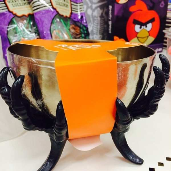 Also loved this little treat bowl. The gold & black... perfect! #TargetHalloween