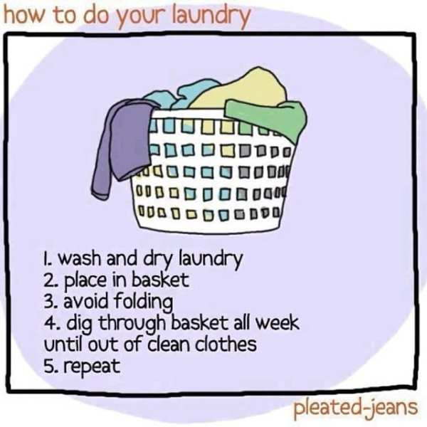 How to do your laundry....