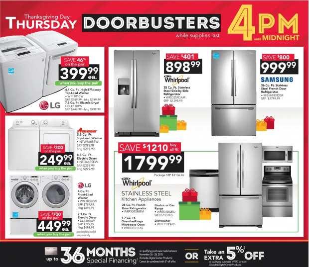hhgregg - Black Friday Ad - Thursday Doorbusters - 2