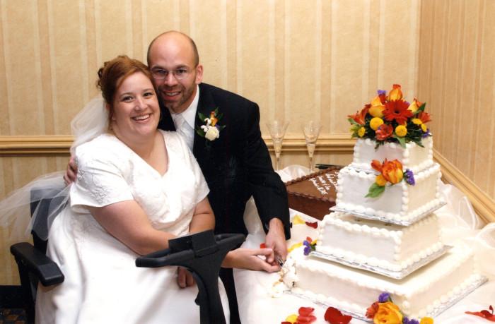 00-01 MS Wedding - Cake Robert Barclay