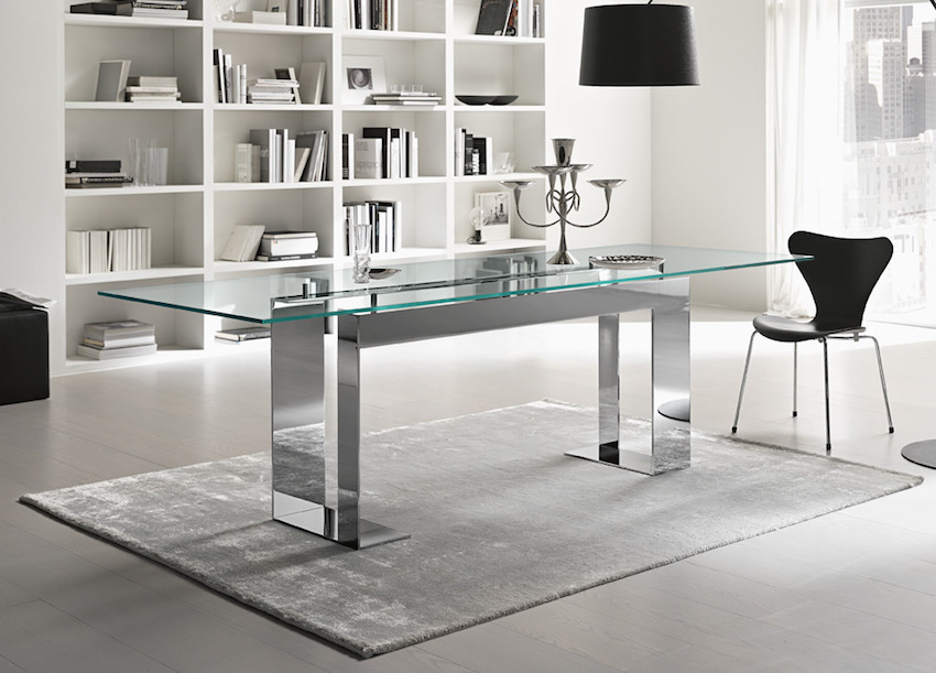 10 Marvelous Modern Glass Dining Tables to Inspire You ...