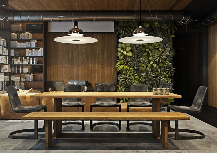 10 Trendy Industrial Style Dining Rooms