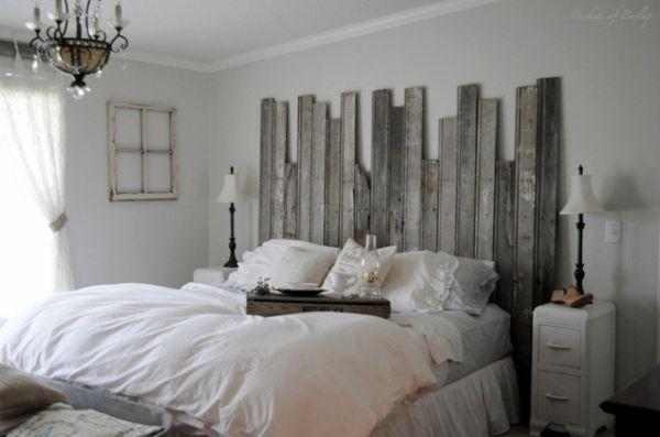 tete de lit en palette 20 idees etonnantes pour un style rustique maj 2020