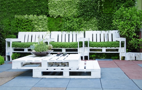 salon de jardin en palette 15 manieres de le concevoir et l amenager