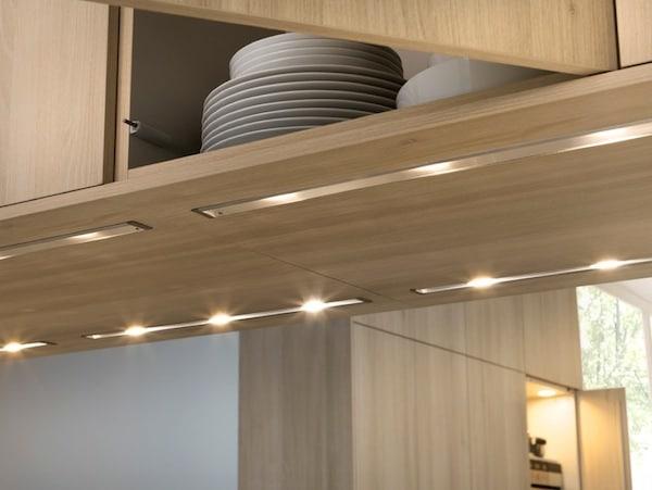 l eclairage sous les meubles de cuisine