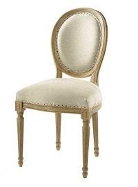 la chaise medaillon lin louis est la meilleure facon d apporter un peu de chic a votre table si vous appreciez le style classique ce modele de chaise est