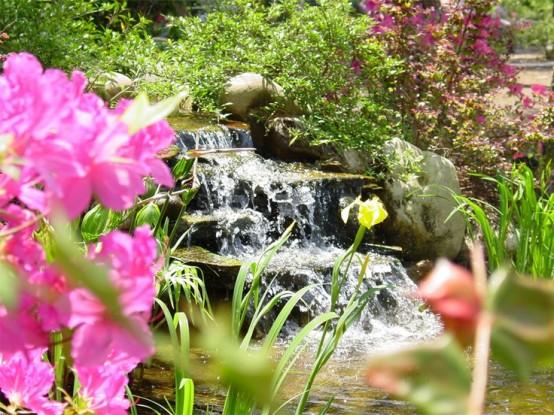 45 jardins relaxants avec cascades