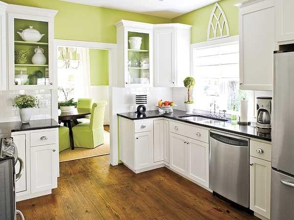 cuisine verte 60 photos et conseils deco pour une cuisine pleine de peps
