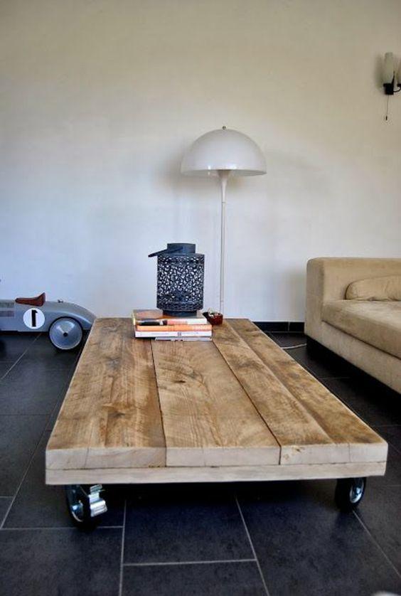 table basse en palette 50 idees et astuces de fabrication
