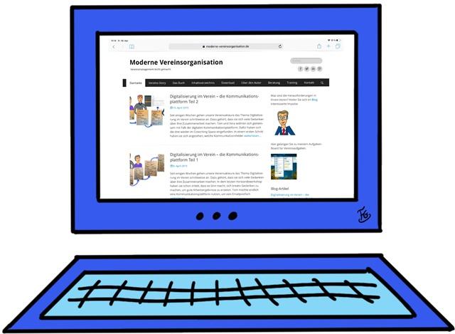 Die Vereinsinternetseite