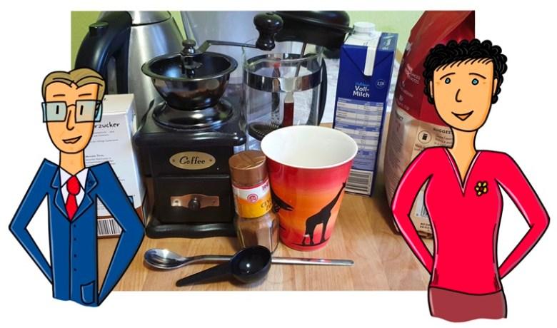 Sachmittel für guten Kaffee