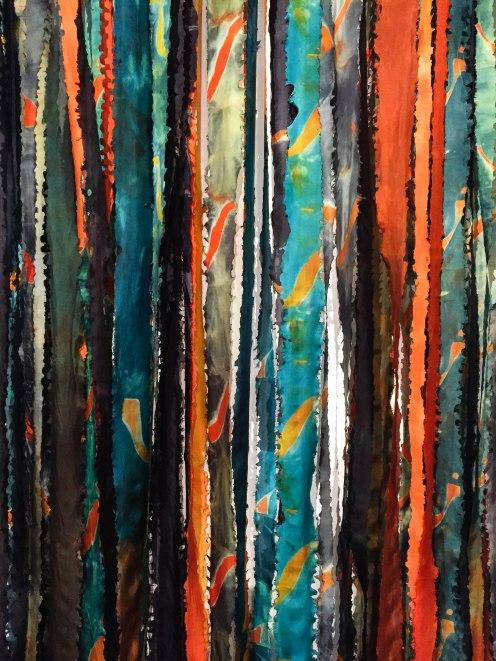 Untitled (Silk Ribbons)