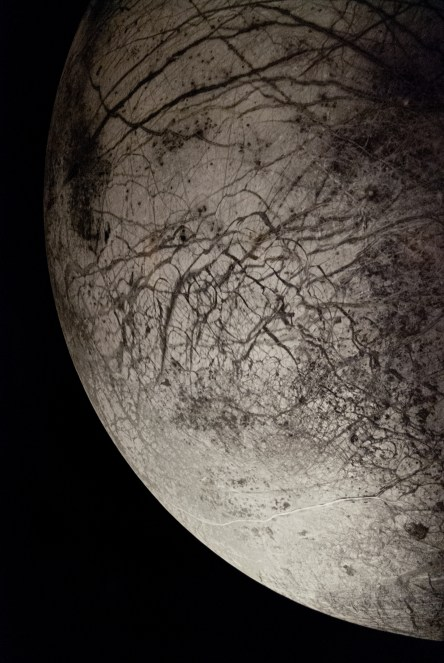 Europa, the ice-covered ocean moon