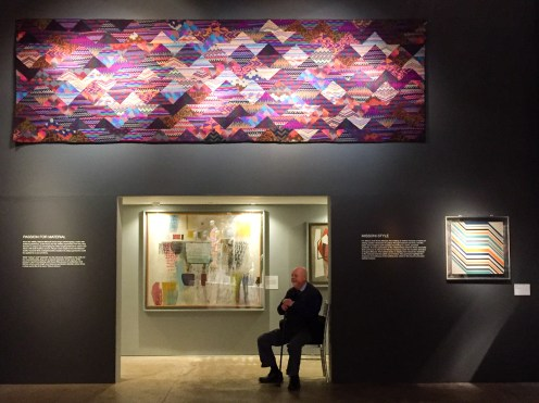 Tapestries, art and a good sit down