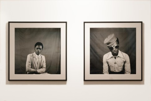 Self Portraits from '70s Lifestyle', Samuel Fosso, 1973-77