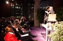 Künstlerischer Beitrag zur Abendveranstaltung: Szenische Lesung von Recai Hallaç mit Gesang von Ninel Cam
