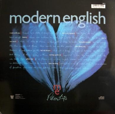 modern english discography