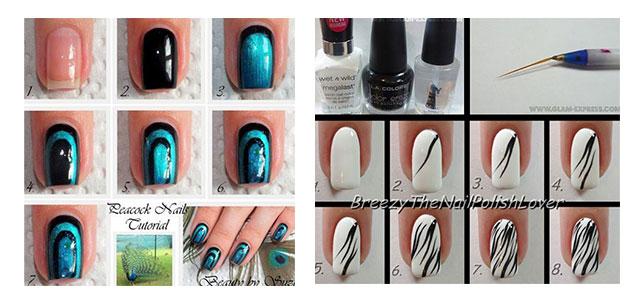 Simple Nail Art Patterns