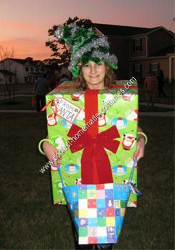 Christmas gift costume ideas