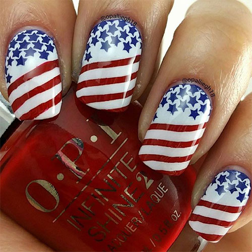 Country Love Nail Art