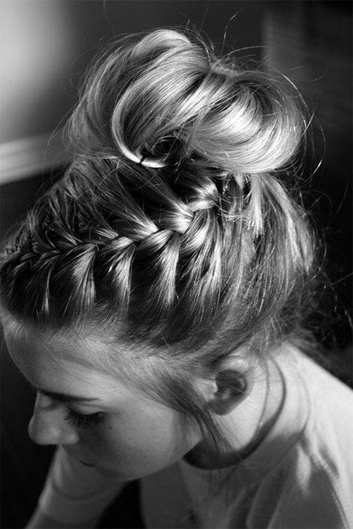 15 Easy Summer Hairstyle Bun 2016 Modern Fashion Blog