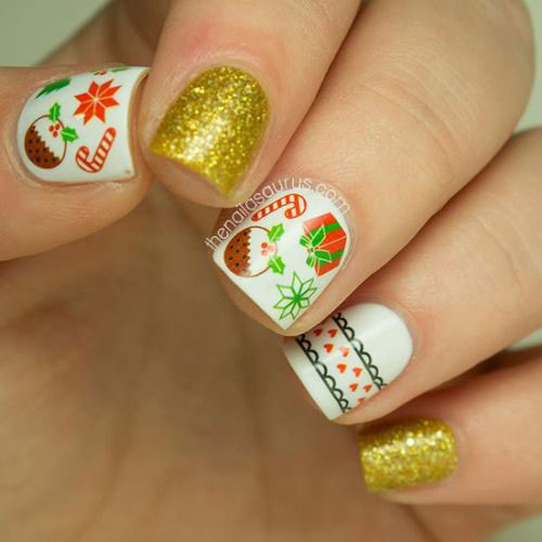 30 Best And Easy Christmas Toe Nail Designs Celebrations