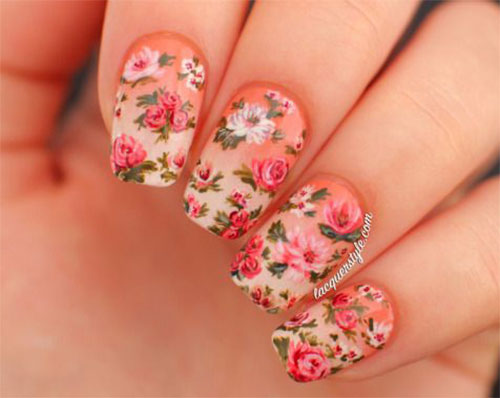20 Fl Nail Art Designs Ideas 2017 Spring