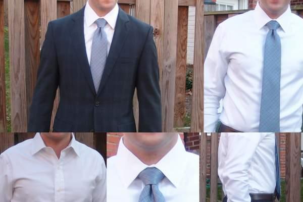 Ratio Clothing White Signature Twill dress shirt