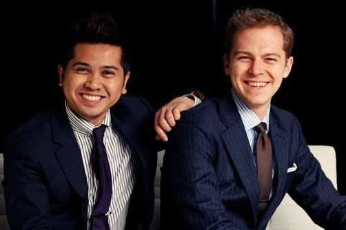 Indochino Founders Heikal Gani and Kyle Vucko