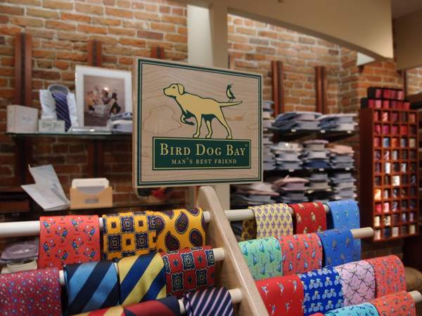 Bird Dog Bay ties at homer reed denver