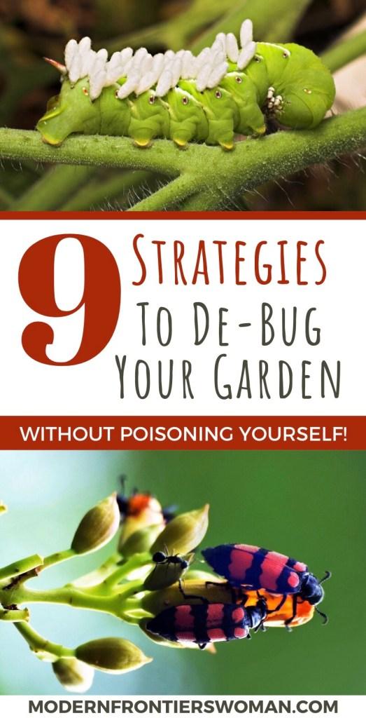 9 Strategies to De-Bug Your Garden