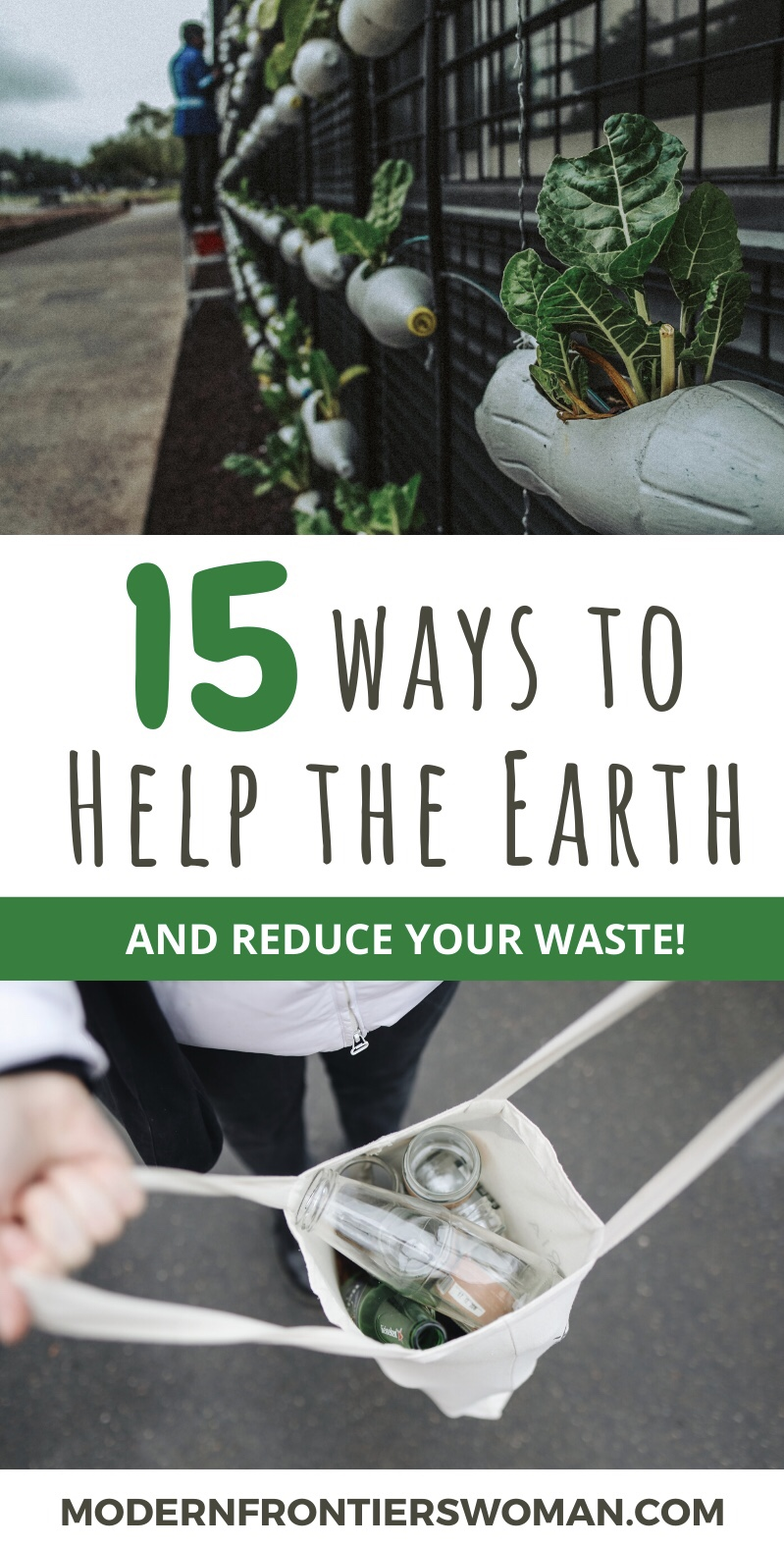 15 Ways to Help the Earth and Reduce your Waste