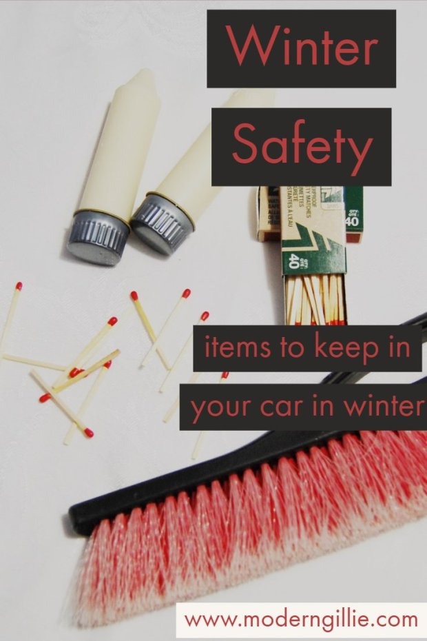 Winter Safety, www.moderngillie.com #wintersafety #winterdriving #keepkidssafe #familycare #carsafety #drivingsafety
