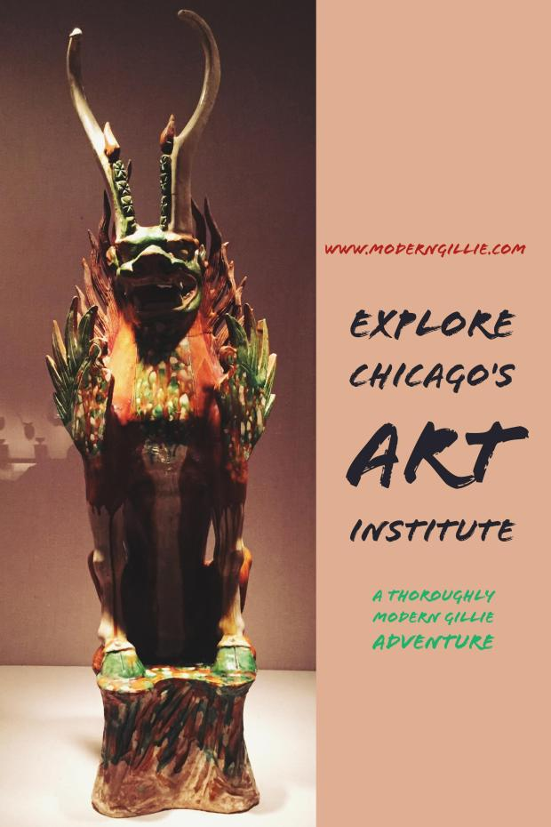 Explore Chicago's Art Institute, www.moderngillie.com, Visit Chicago, Things to see in Chicago