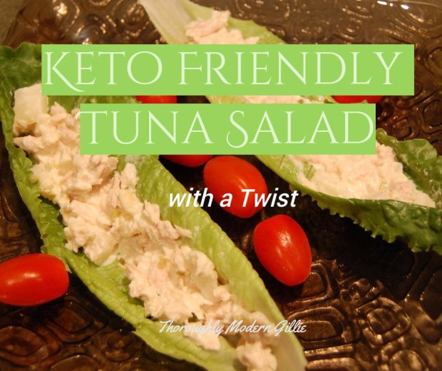 Keto Friendly Tuna Salad, www.moderngillie.com