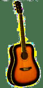 eko laredo fastlok acoustic guitar