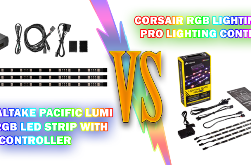 comparing the 2 popular led strips to light up the inside of your gaming pc tower