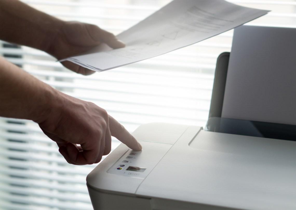 business printer printing secure hacker hacking