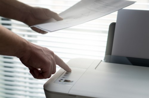 business printer printing secure hacker hacking