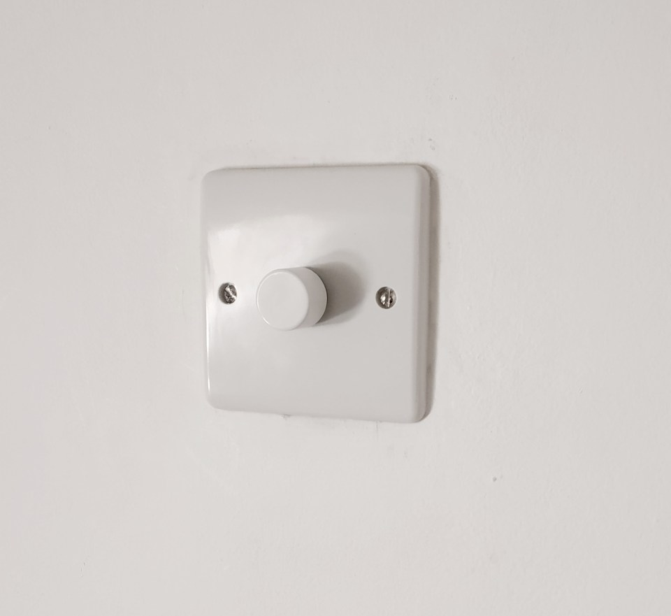 light switches and plug sockets