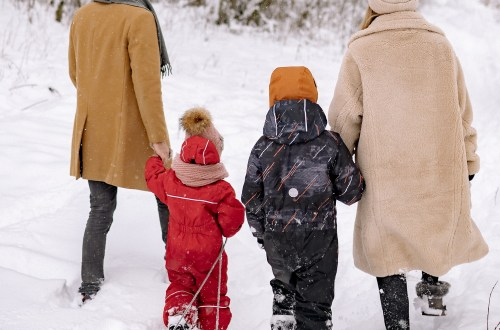 family's winter wardrobe